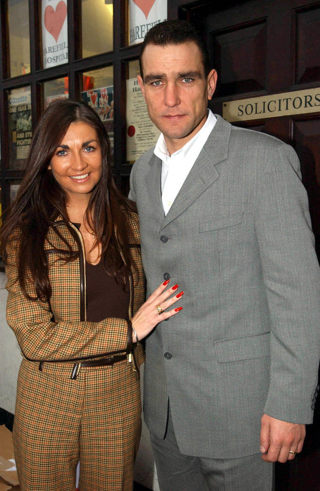 Vinnie Jones said he is now counting down the days until he can see Tanya again
