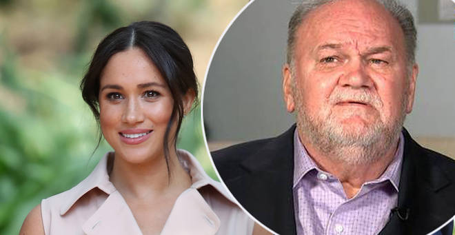 Meghan Markle 'could face dad Thomas in UK court' over release of private letter