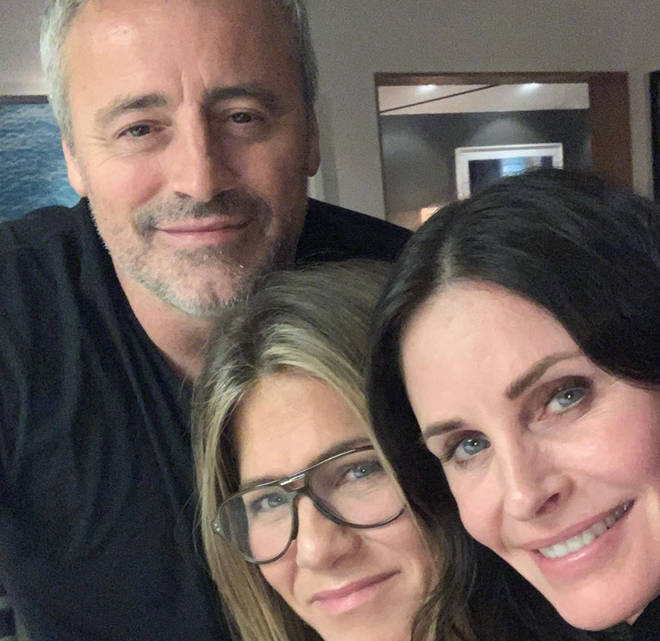 The stars who played Joey, Monica and Rachel shared a sweet picture