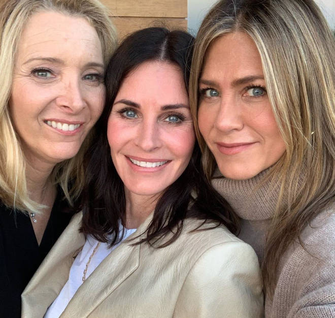 Courtney Cox, Jennifer Aniston and Lisa Kudrow have remained close since the show ended in 2004