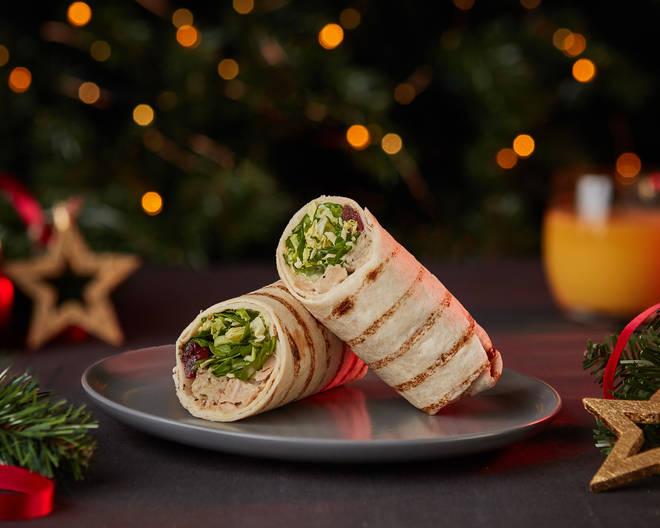 Wicked Kitchen Festive Feast Wrap (£3)
