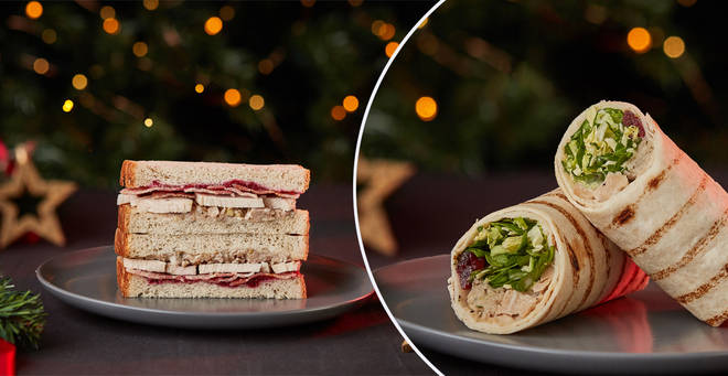 Tesco's Christmas sandwiches are about to arrive in store...