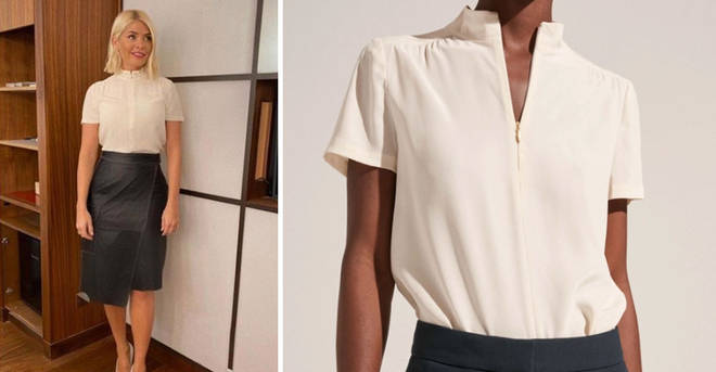 Holly's blouse is £189