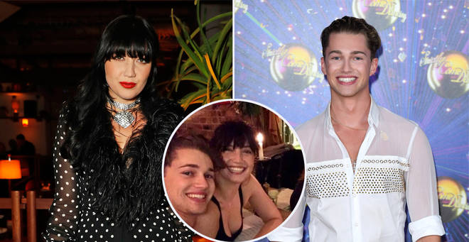 Daisy and AJ met during Strictly Come Dancing in 2016