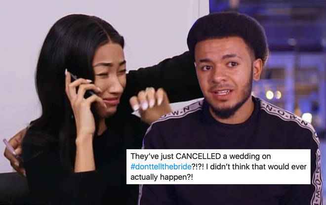 The couple's wedding was cancelled because of her snooping