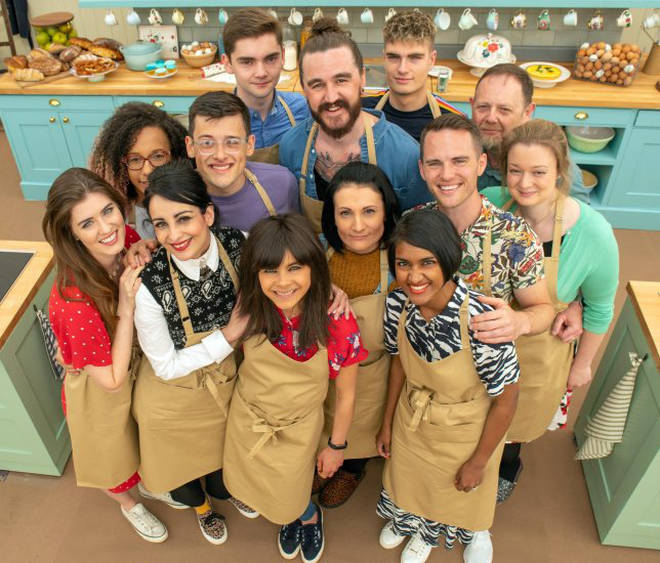 The Bake Off contestants 2019
