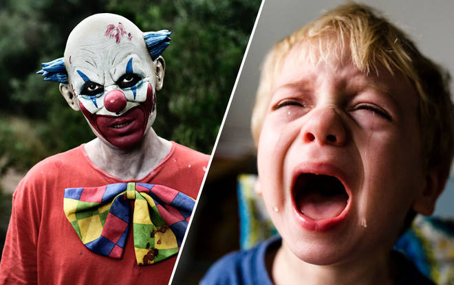 The killer clown has been hired to scare children