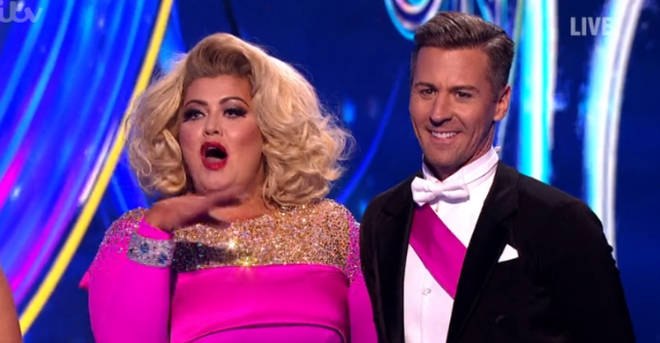 Matt Evers was partnered with Gemma Collins in the last series