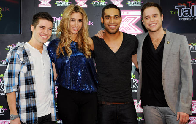 Stacey Solomon came in third on The X Factor in 2009