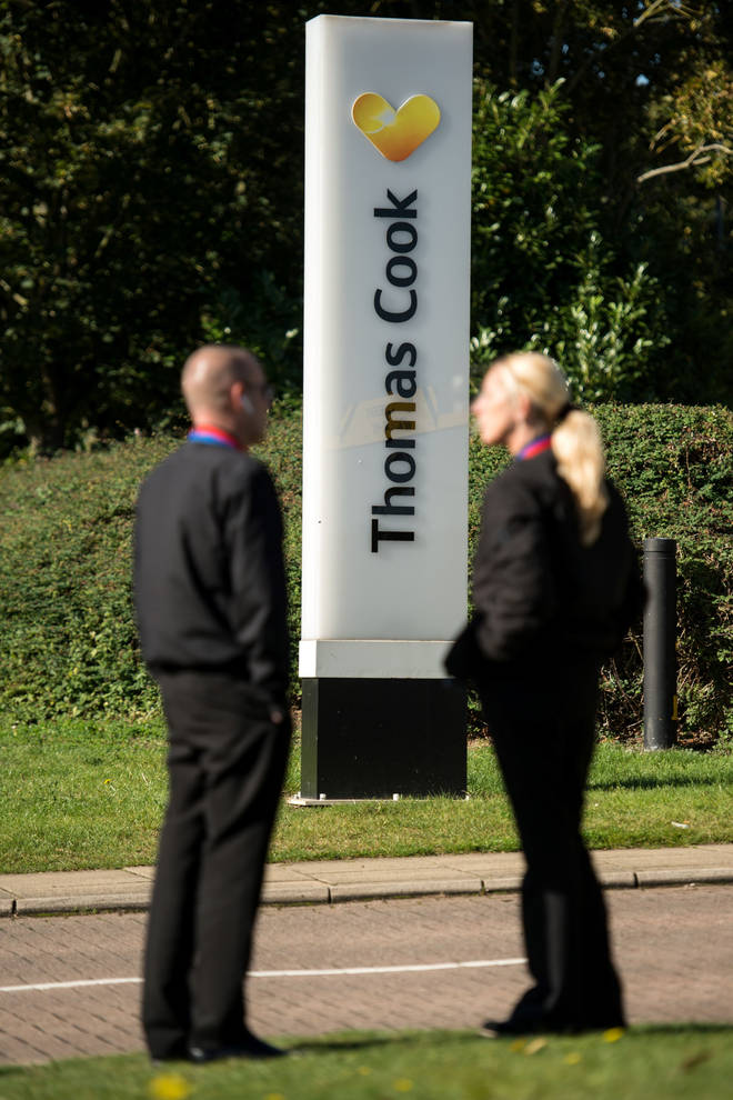 Thomas Cook announced its closure last month