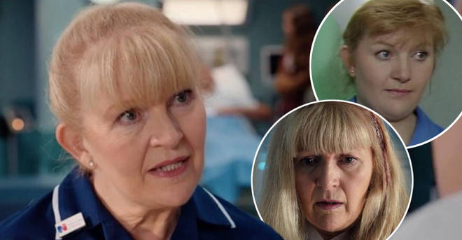 Cathy Shipton is leaving Casualty after 33 years of playing Duffy