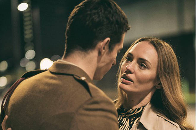 Laura Haddock was killed in the first series of The Capture