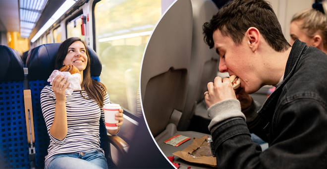 Eating on public transport should be banned, claims report