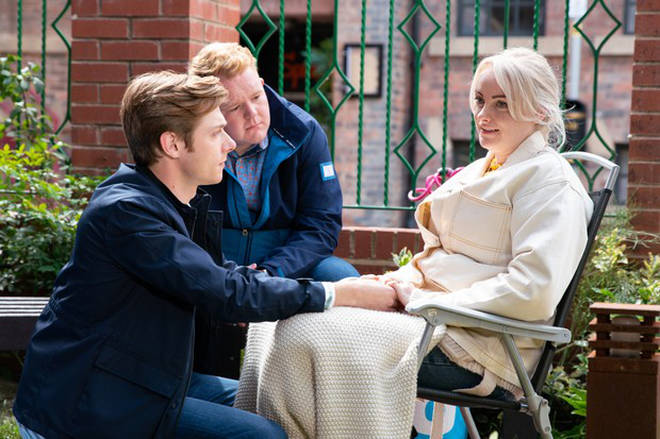 Sinead Tinker is facing up to the reality of her illness on Corrie