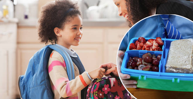 Parents have been urged to stop making their kids packed lunch when they turn eight (stock images)