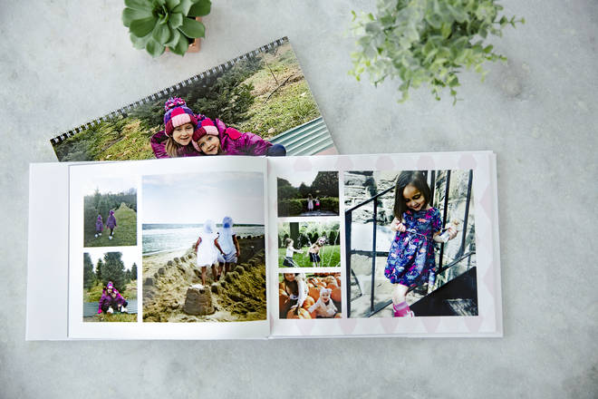 A personalised photo book from Motif