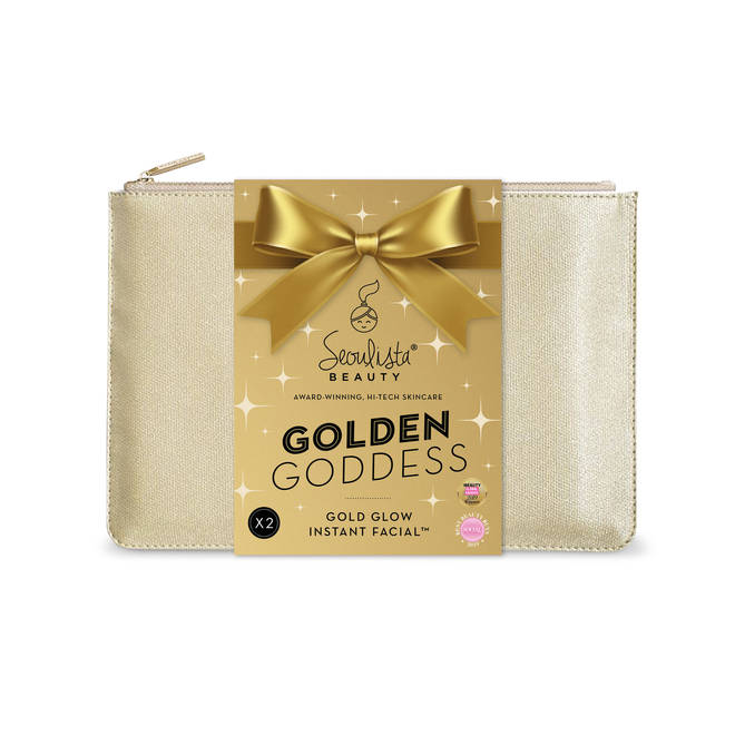 Golden Goddess face mask set from Seoulista Beauty