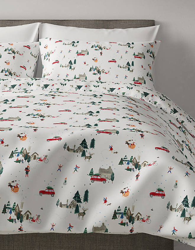 Marks and Spencer's Christmas Eve Bedding Set