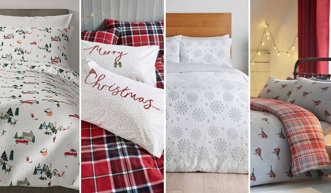Here's the best Christmas bedding on the high street