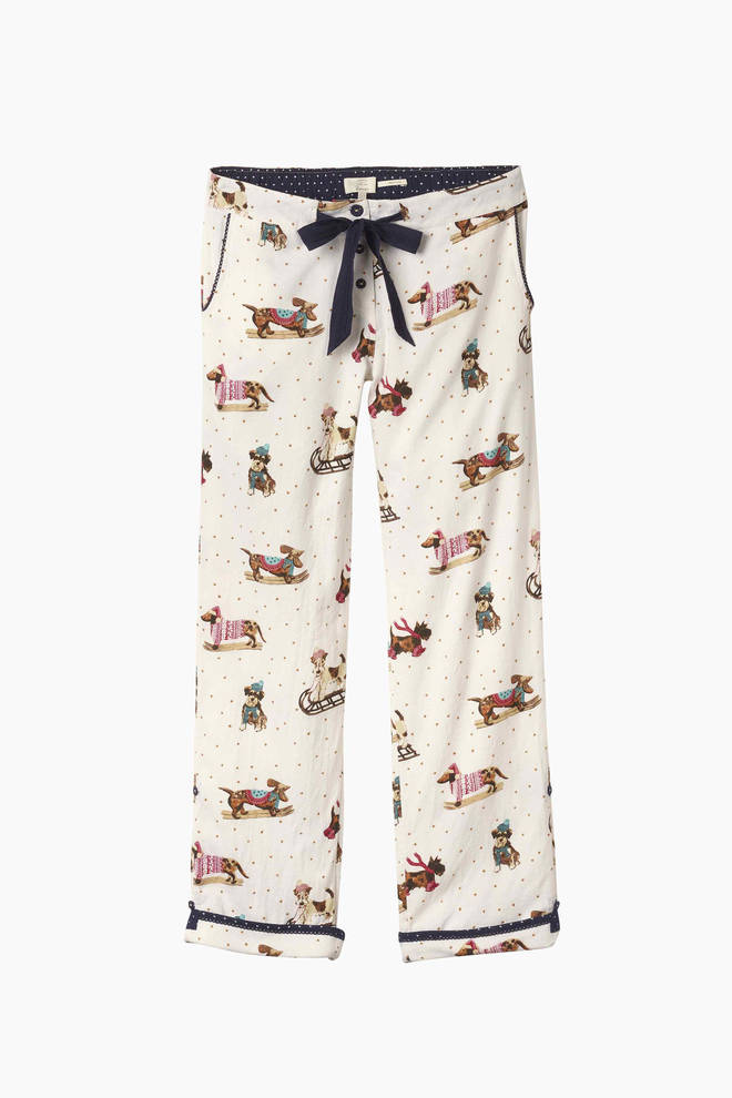 Snow Dog Classic Lounge Pants, Fat Face