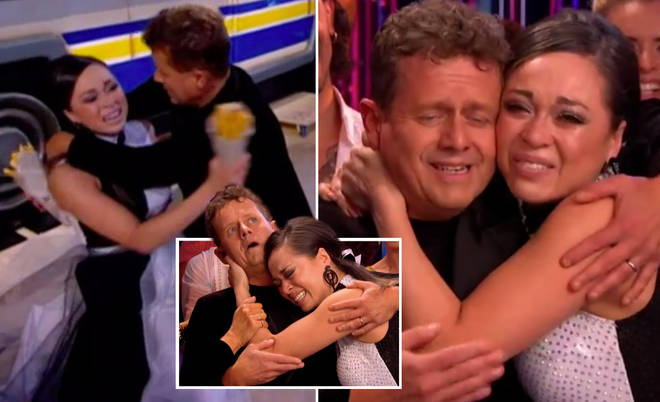 Strictly's Katya Jones leaves viewers concerned as she breaks down in tears during live show