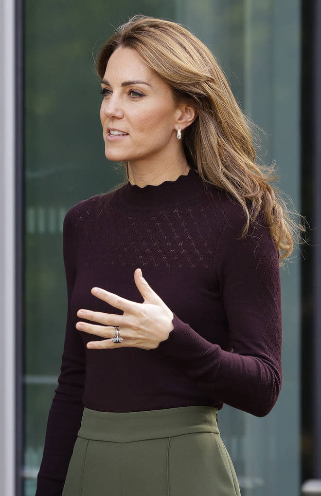 Kate attended family therapy sessions with her brother James.