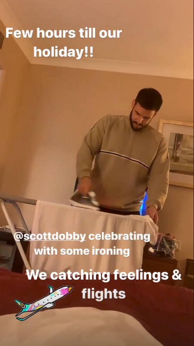 Scarlett Moffatt is off on holiday with boyfriend Scott