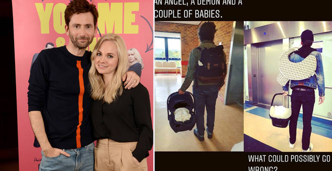 David Tennant welcomes fifth child with wife Georgia