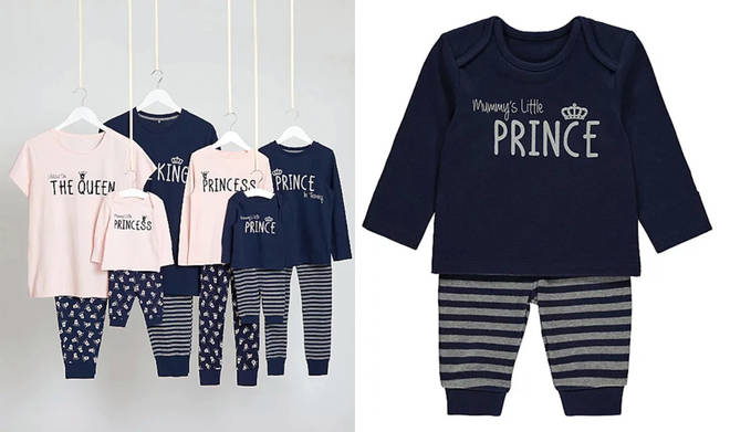 You and your family can now get matching royal-themed pyjamas for just £10 from Asda