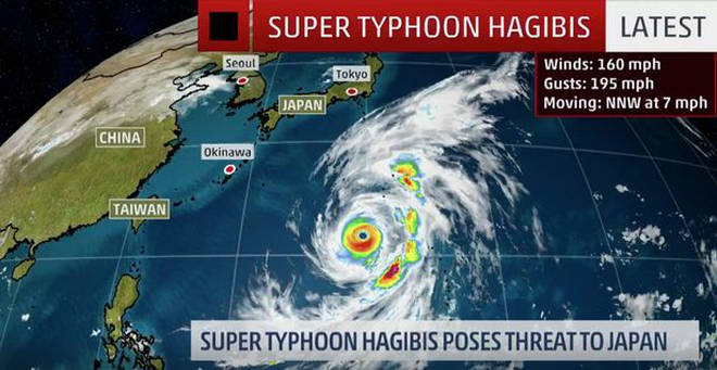 The super typhoon has caused travesty across the country