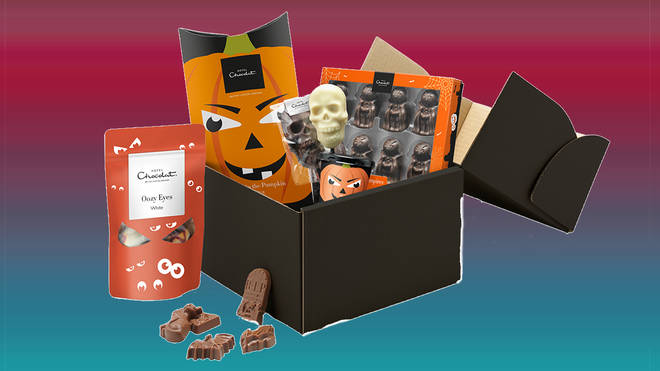 This box is packed full of goodies perfect for a Halloween party