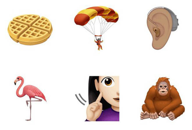 Apple have introduced a number of new emojis for their latest update