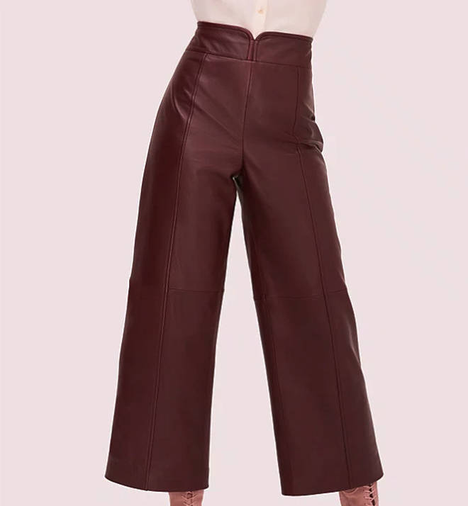 Holly's trousers are £895
