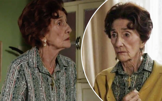 EastEnders fans fear for Dot Cotton's life this winter after central breaks down in shock plot twist