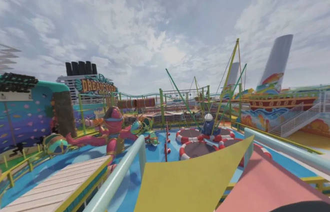 The theme park will be full of attractions