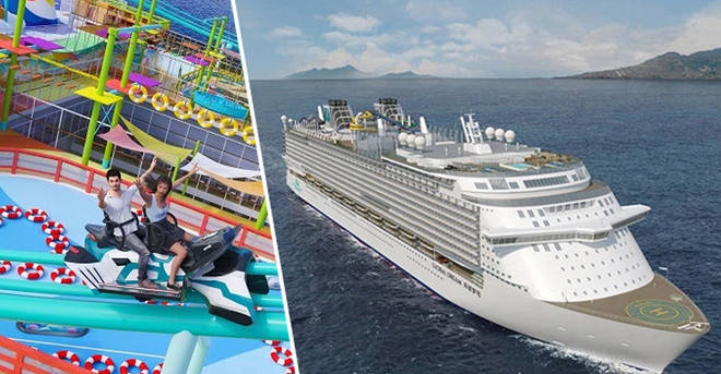 The Dream Cruise will hold the longest roller coaster at sea