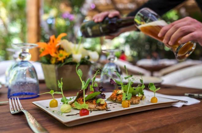 Jardin Nebulosa boasts top class food in humble settings