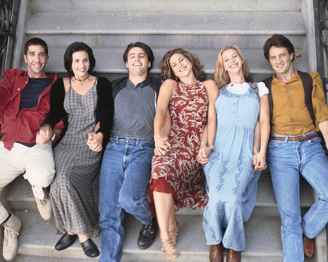 Friends' final episode aired in 2004