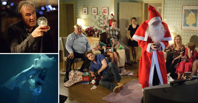 Christmas on EastEnders is never smooth sailing