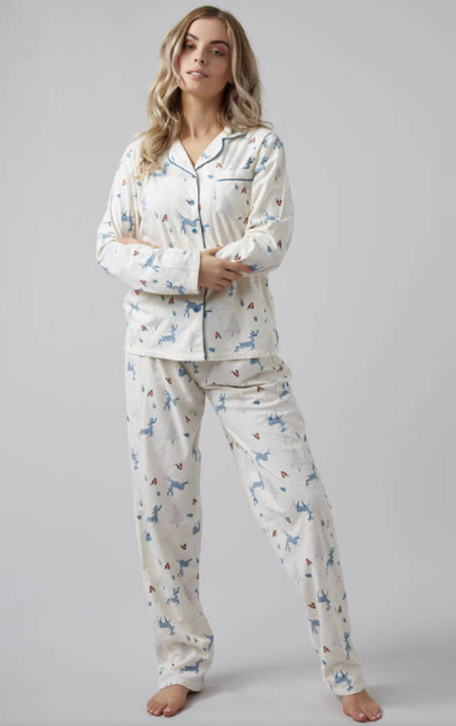 Christmas scene PJs in a bag, Boux Avenue