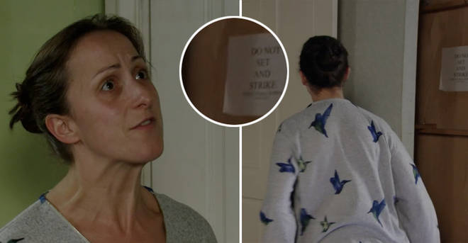 EastEnders suffer major blunder as part of the set is visible during Sonia Fowler scene