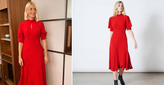 Holly Willoughby's dress comes in at £195