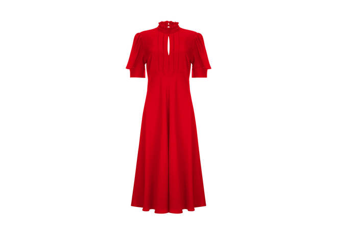 Holly's dress is available from Finery London