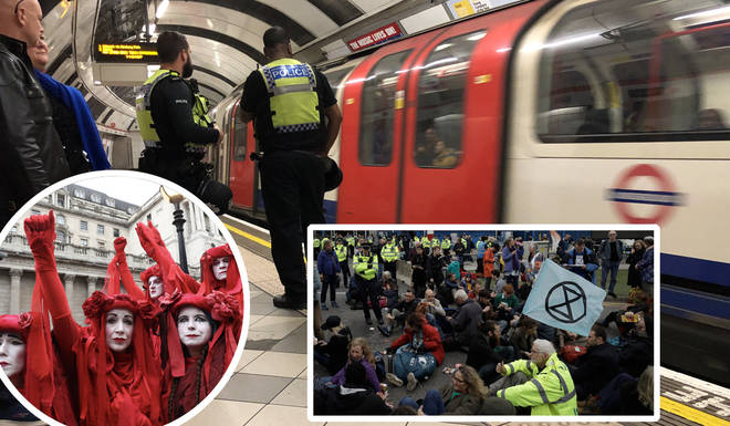 London's underground is set to be affected by the protests beginning on 17th October