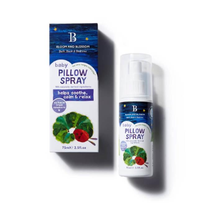 Mum praises 'magic' £9.99 pillow spray for helping her baby sleep through the night