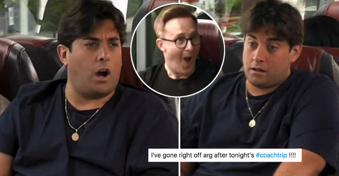 Fans were not happy with Arg on Coach Trip