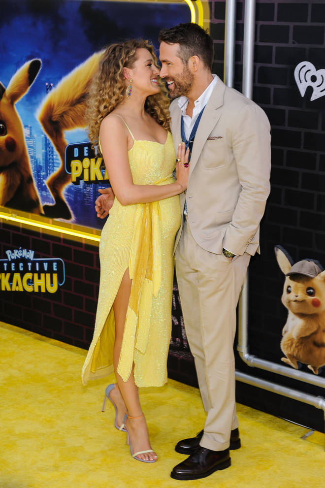 Blake Lively displayed her baby bump at the Detective Pikachu premiere back in May