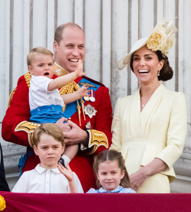 Kate and William are the parents to Prince George, Princess Charlotte and Prince Louis already