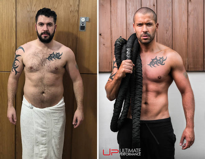 Shayne Ward before and after