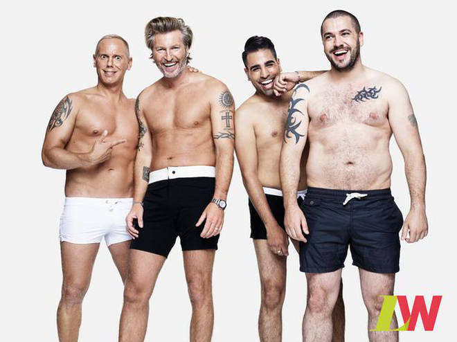 Shayne Ward appeared in a Loose Women body positivity campaign